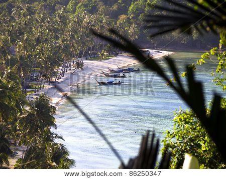 Koh Phi Phi Leh beach.