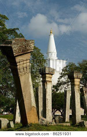 Anuradhapura Ruin, Ruvanmali Maha Stupa, Sri Lanka
