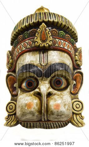 Hanuman, a traditional Nepalese mask