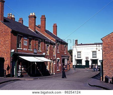 Victorian street, Dudley.