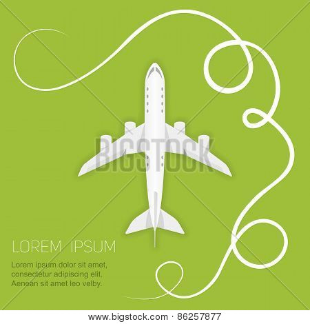 Vector Background Airlines
