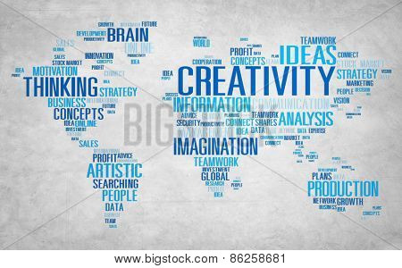 Creativity Artistic Imagination Inspiration Innovation Concept