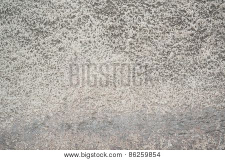 Demolished cement wall as abstract background
