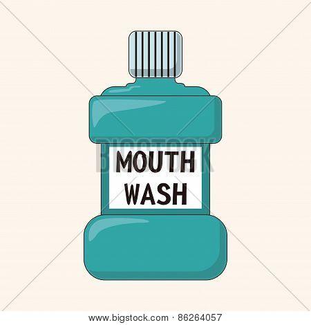 Mouthwash Theme Elements