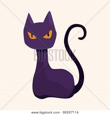 Evil Cat Theme Elements