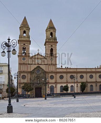 Church Of San Antonio, Cadiz, Spain