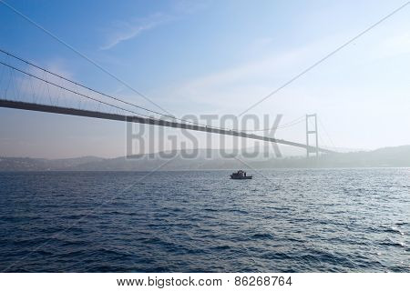 Bosphorus Bridge, Istanbul , Turkey