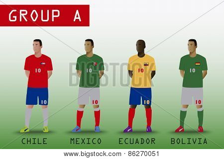 Group A for American Soccer