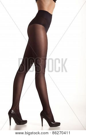 Woman In Stockings