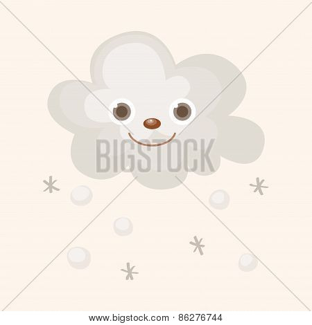 Weather Snowy Theme Elements