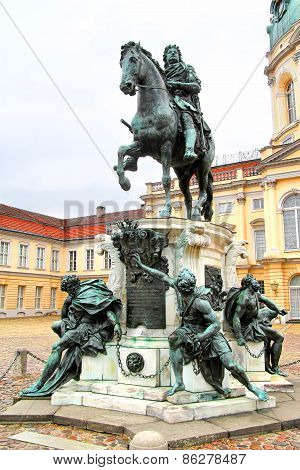 Statue Of Frederick William I Of Prussia In Berlin