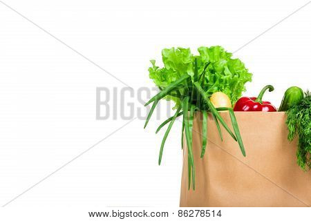 Bag With Groceries