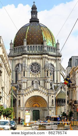Saint Mary's Royal Church In Brussels, Belgium