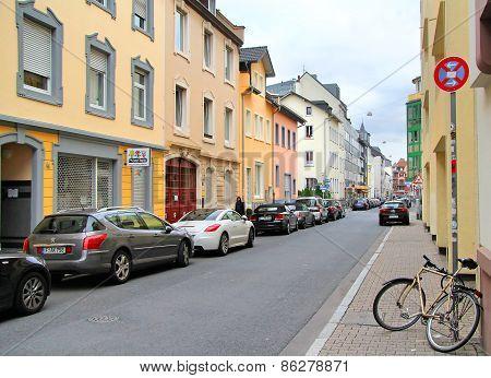 Quiet City Street