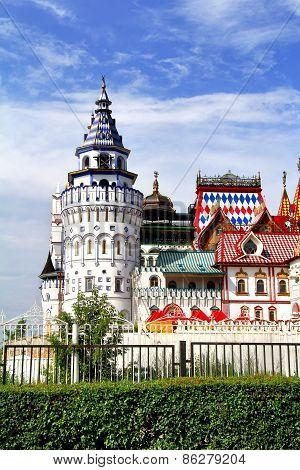 Izmaylovo Kremlin In Moscow