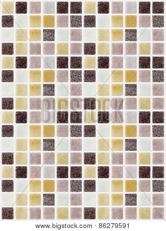 Mosaic Marble Tiles Colored Square