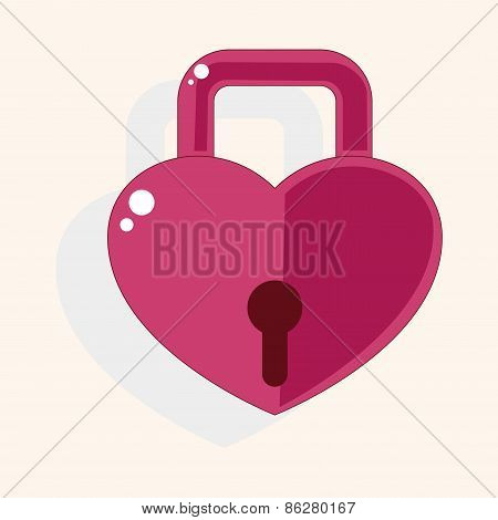 Lover Lock Theme Elements