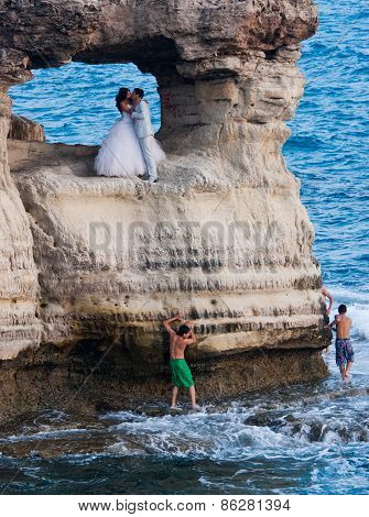 Wedding Photography Of New Married Couples
