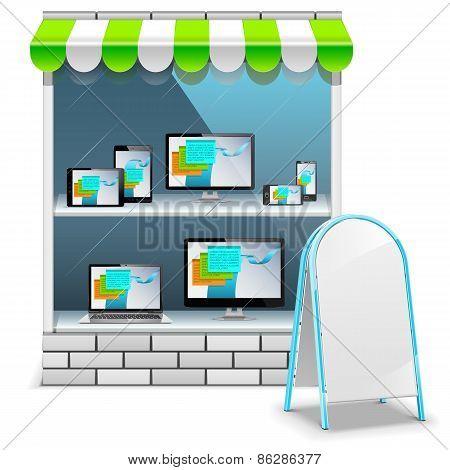 Vector Computer Store