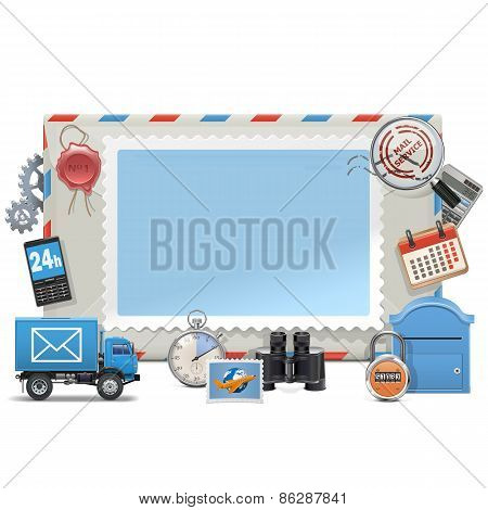 Vector Mail Board
