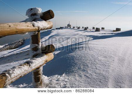 Winter Landscape Monte Grappa