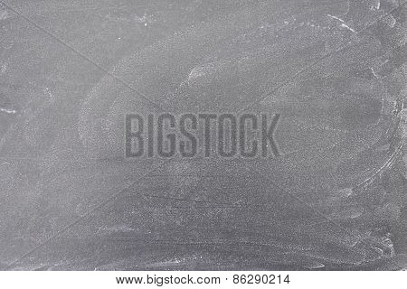Chalk Marks On Blackboard