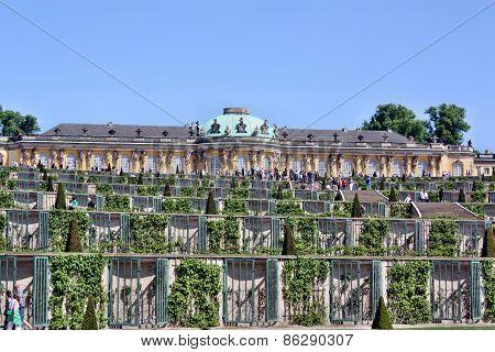 Palace In The Park Sanssouci, Potsdam