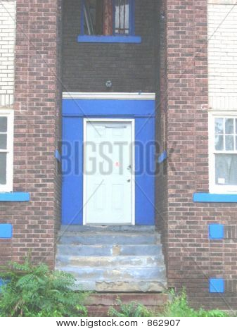 Blue Doorway 21