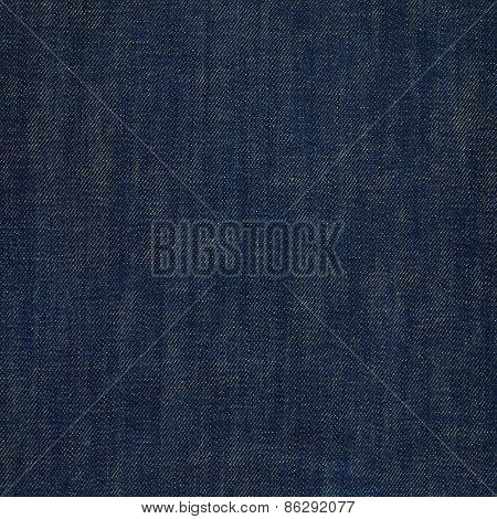 Dark navy blue jeans texture
