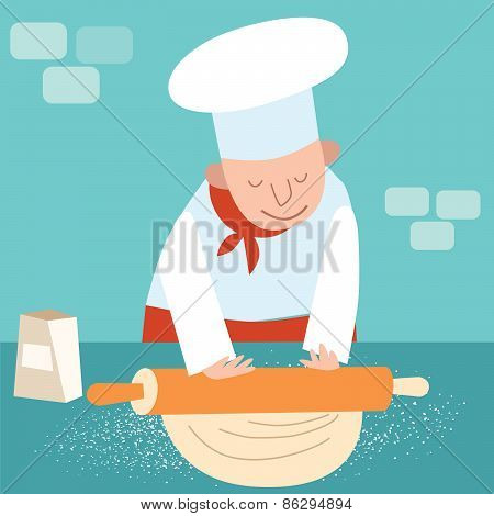 Cook Rolls Dough