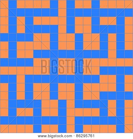 orange blue crossword