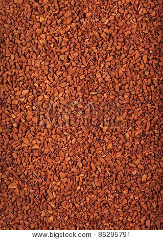 Instant Granulated Coffee Background