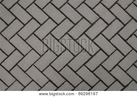 Wall gray background of tiles