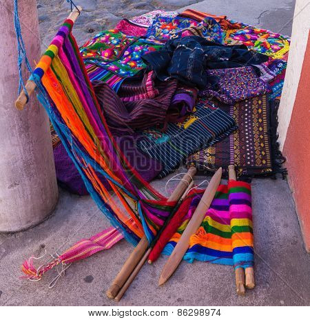 weaving textiles