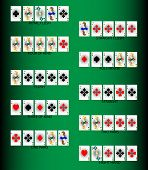 picture of flush  - Set poker combinations - JPG