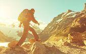 foto of breathtaking  - Hike in Patagonia - JPG