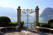 picture of salvatore  - The door in Parco Ciani Lugano - JPG