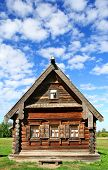 picture of masterpiece  - Old national wooden house in Suzdal - JPG