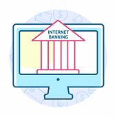 foto of electronic banking  - Online banking concept - JPG