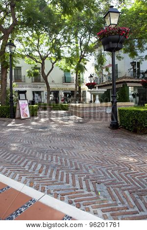 Old Town Marbella Streets, Spain