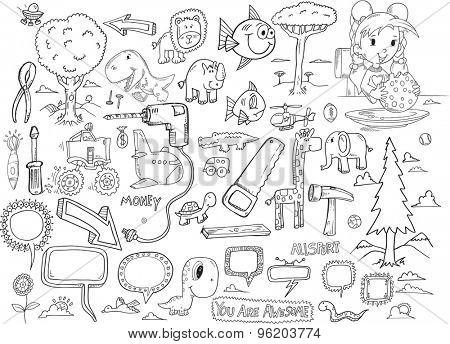Doodle Vector Set