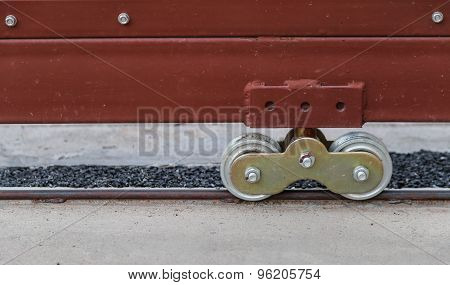 Wheel Of Big Door