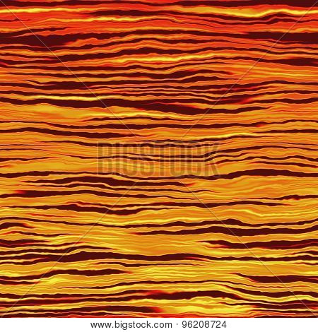Fiery Waves Or Toxic Water Pattern Made Seamless. Video Also Available.