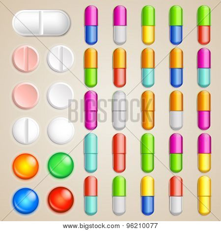 pills set finish