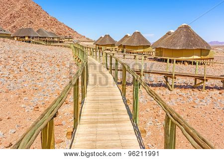 Sossus Dune Lodges In Namibia.