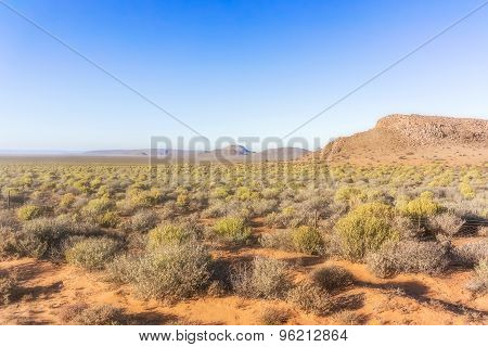 Landscape In Northern Cape, South Africa