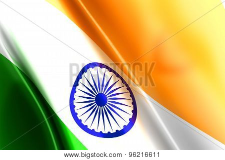 Flag of India.