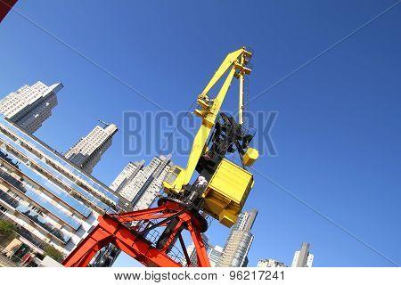 Crane In Puerto Madero
