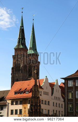 Historic Buildings In Nuremberg