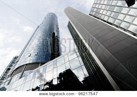 Modern Architecture In Frankfurt Am Main